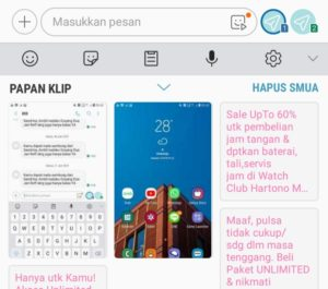 Clipboard Samsung A5 2017