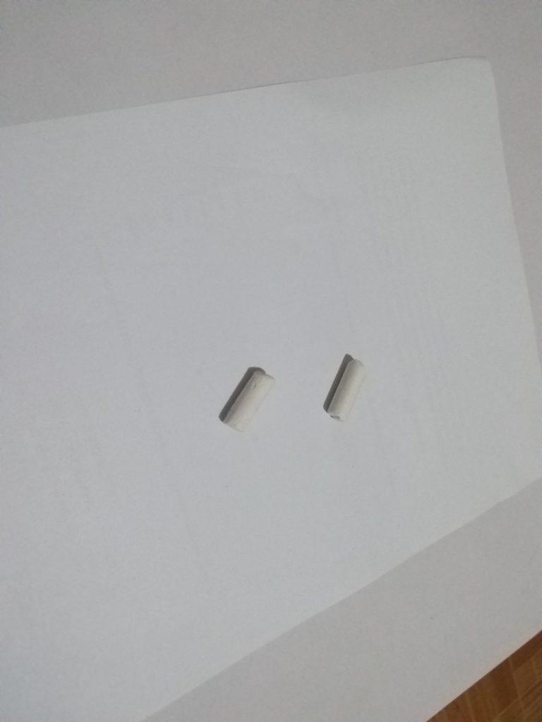 Kapur serangga untuk mengusir semut dari laptop