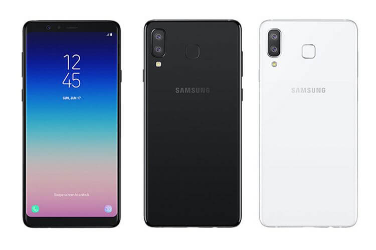Android 10 One UI 2 Galaxy A8 Star